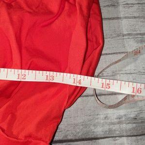 GAP Dresses - Guess Bright Orange Fit & Flare Dress SZ:XS Red